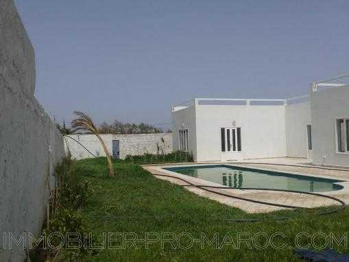 Maison de campagne avec piscine, non meublée, située à 8 kms d'Essaouira