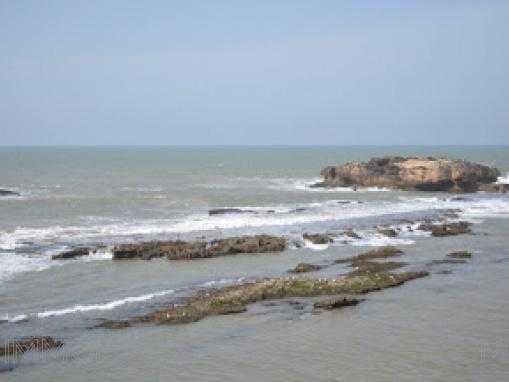 Terrain de 95m² en première ligne vue  mer à Essaouira