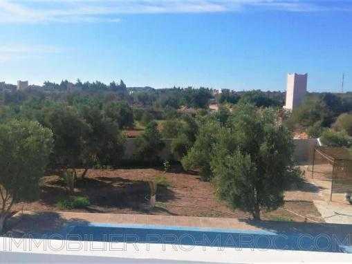 Villa non meublée avec piscine à qlqs kms d'Essaouira