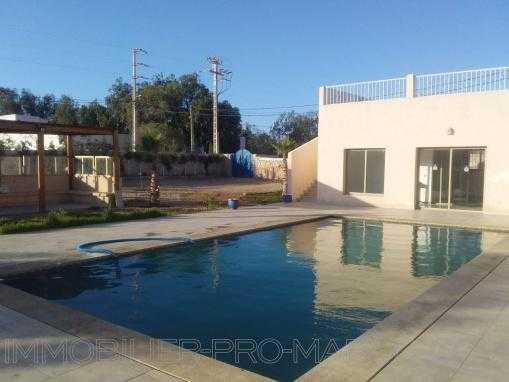 Villa avec piscine, non meublée, située à seulement 8 Kms d'Essaouira