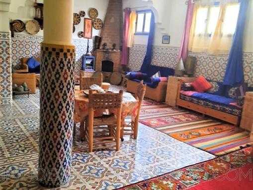 Villa style riad, meublée, au Quartier Moustakbal