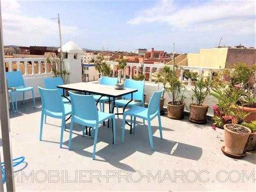 Bel appartement, entièrement rénové avec double terrasses