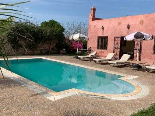coquette maison meublée, avec piscine, à seulement 8 Kms d'Essaouira