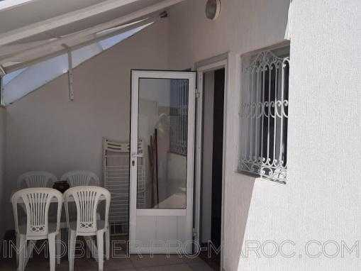 Studio meublé avec TERRASSE PRIVEE, au centre ville d'Essaouira.