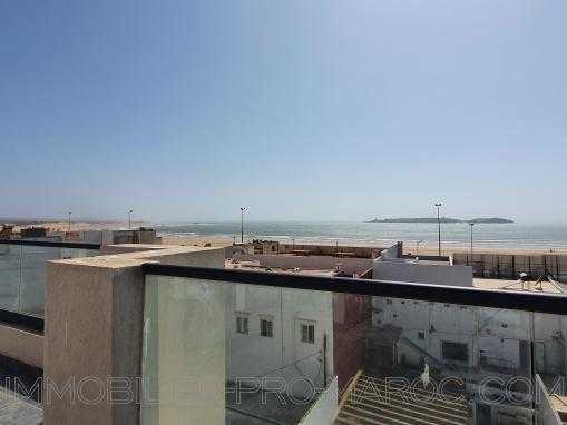 Appartement terrasse avec vue sur mer à 100m de la plage