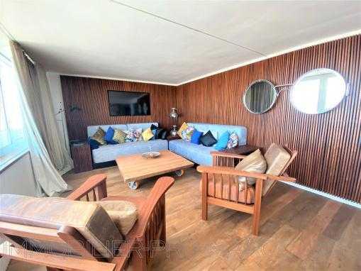 Appartement unique avec une belle vue sur la mer